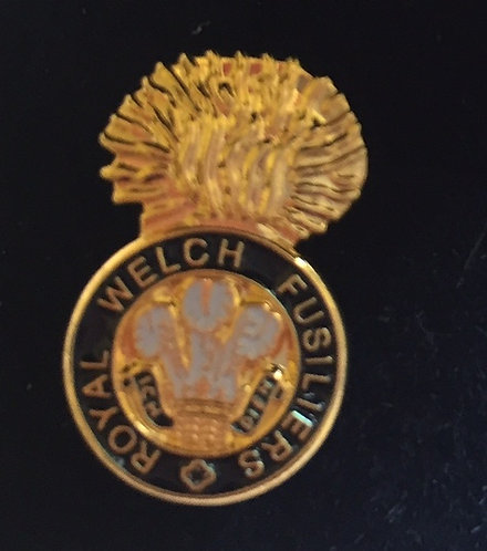 Royal Welch Fusiliers Lapel Pin Badge