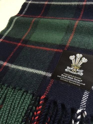 Royal Welsh Tartan Scarf