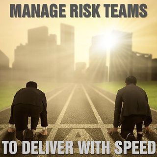 Managing Risk Teams to Deliver with Speed