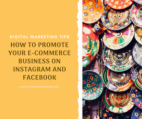 How to promote your e-commerce business on Instagram and Facebook