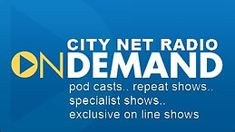Podcasts, on line shows and repeats from City FM Malaga and cnr online radio in Spain