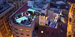 La Piscina Lounge, Hotel Molina Lario. Calle Molina Lario