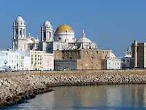 The Ancient port city of Cadiz in Southern Spain