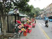 Flower sellers on Alameda Principal