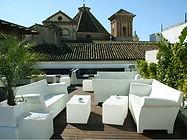 Oasis Lounge, Oasis Hostel Málaga.