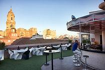 Terraza del Hotel Larios Room Mate. Marqués de Larios