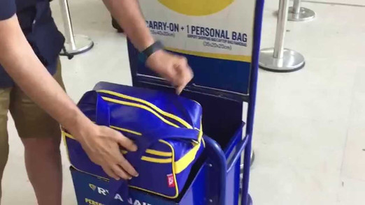 Ryanair to allow Wheelie bags in cabin in damage limitation exercise despite previous announcement