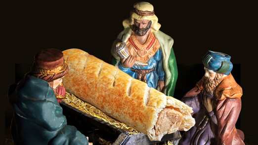 Greggs Sausage Roll offends Christmas