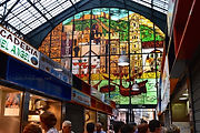 The market is also a feast for the eyes as well as the palet