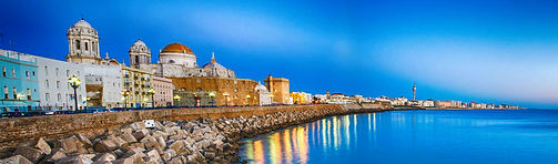 The port city of Cadiz in Southern Spain