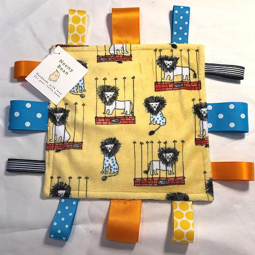 Small Lovie Blanket - Mane Attraction Saffron