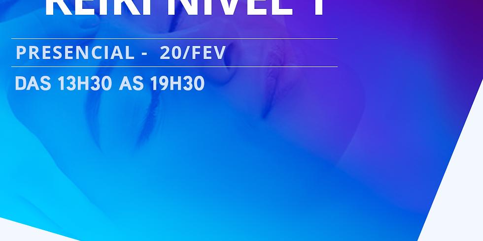 REIKI NIVEL 1 - PRESENCIAL