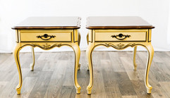 French Pair Side Tables