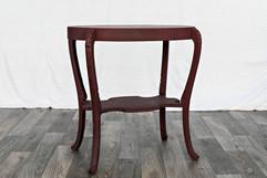 Burgundy Side Table