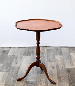 Scallop Edge Table