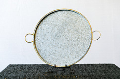Galvanized Platter
