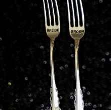 Bride and Groom Forks