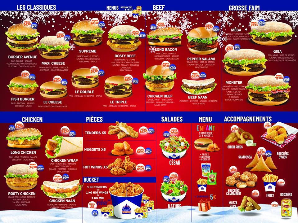 burger avenue carvin