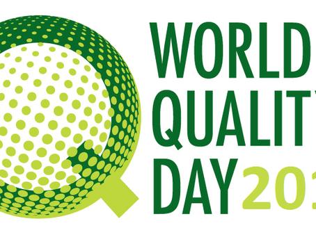 Dia Mundial da Qualidade 2015