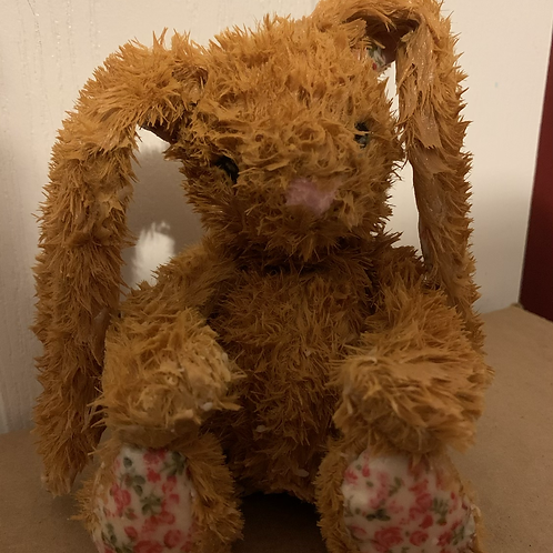 Salted Caramel Wax Dipped Stuffed Animal