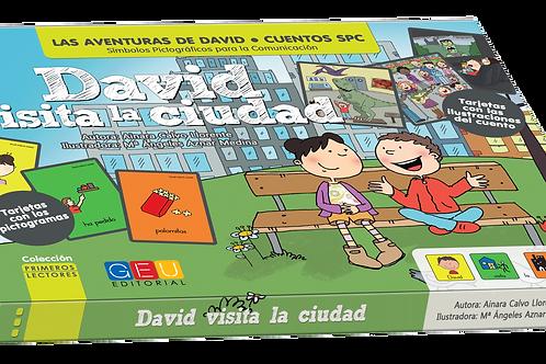 David visita la ciudad