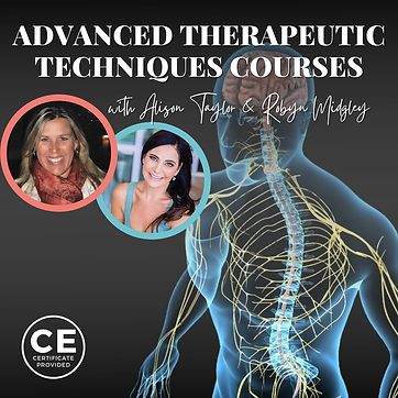 Adavnced Therapeutic Techniques Courses