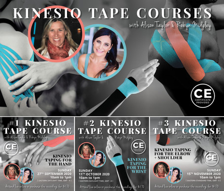 Kinesio Taping - Trio of Courses