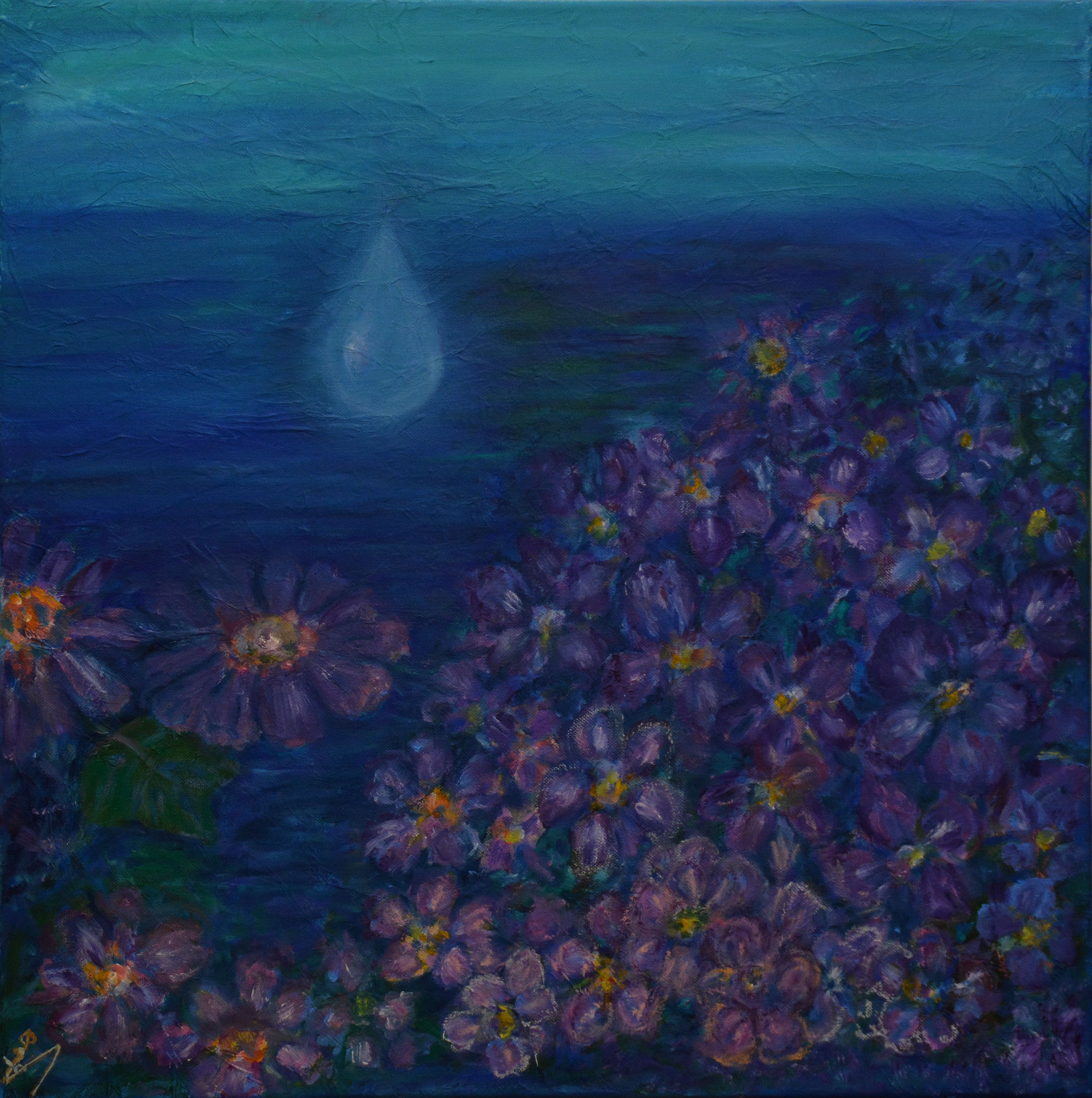 la maree de violettes