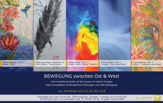 An Art Exhibition between the border- Ars Ardenn Art Gallery