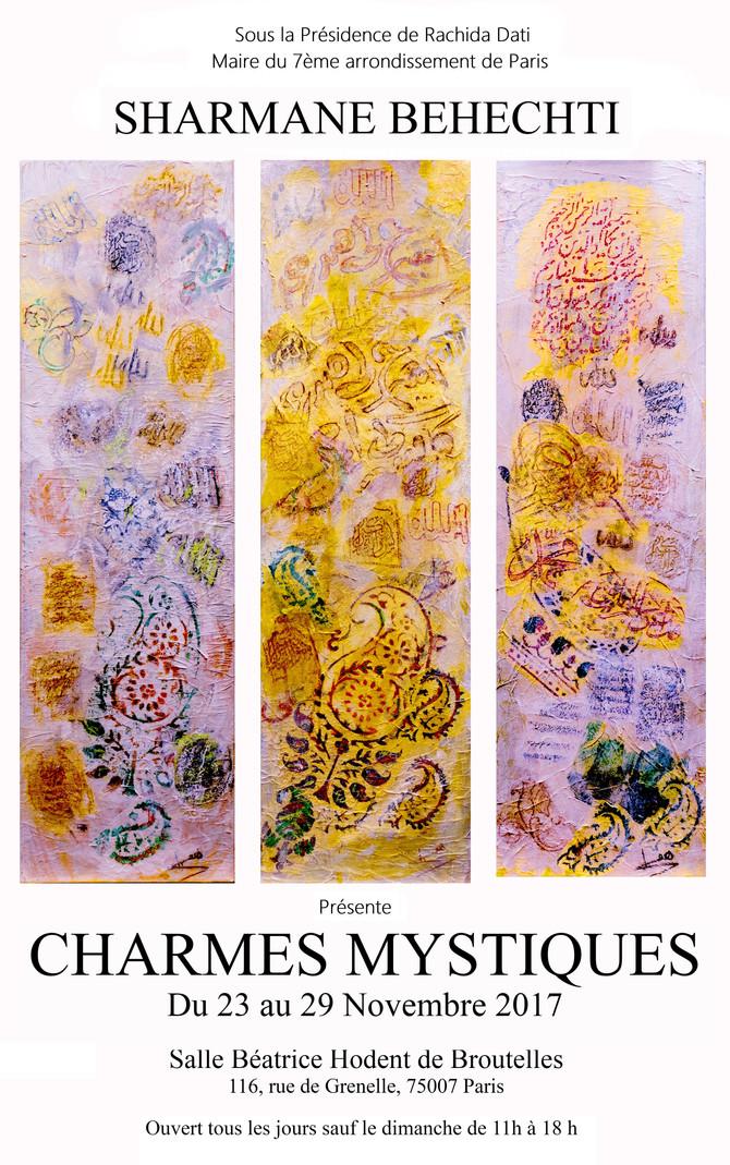 Charmes Mystiques-Du 23 au 29 Novembre 2017
