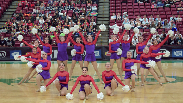 2019-03-23 - EHS Dance State Pom Routine