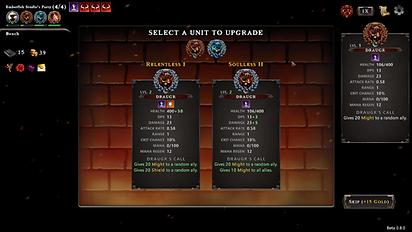 Hadean Tactics Early Access Unit Upgrade