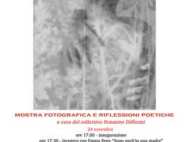 Sulla pelle delle donne - mostra fotografica e riflessioni poetiche - 24 e 25 novembre 2019 a Poggib