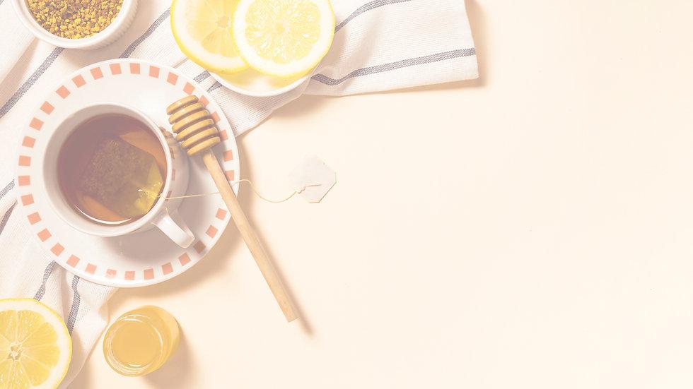 healthy-breakfast-with-honey-lemon-slice