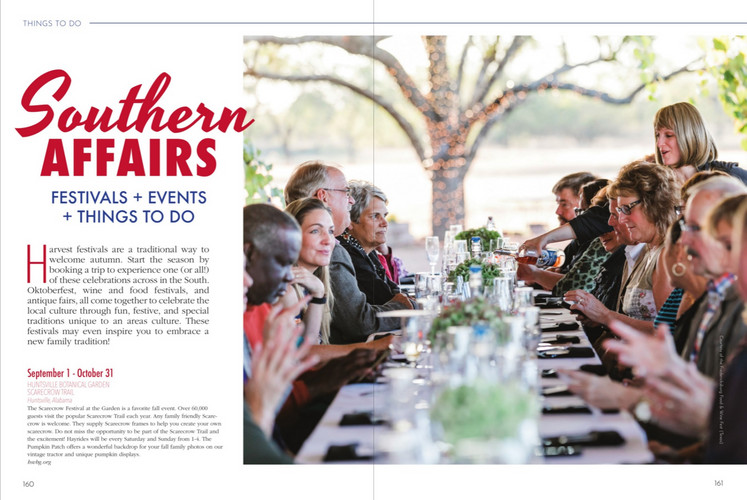 Southern Affairs + Events