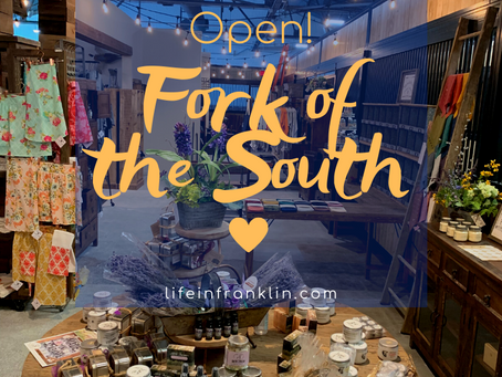 Fork of the South - Opens!