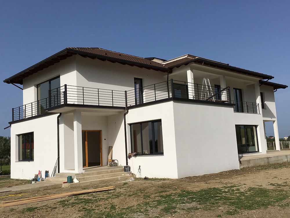 an image of our new big house in Albania