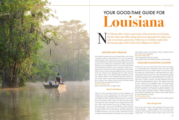 Louisiana Overview