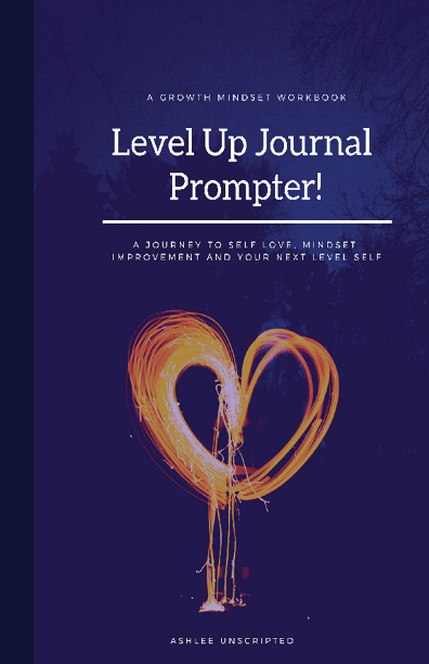 The Level Up Journal Prompter by Ashlee Cox