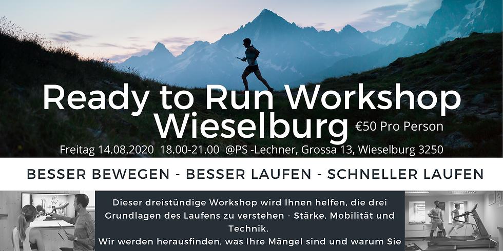 Ready to Run Workshop Wieselburg