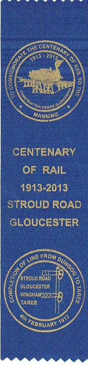 Ribbon- Centenary of 100 years of rail