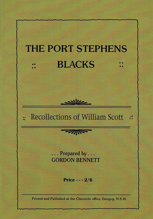 Port Stephens Blacks - Gordon Bennett