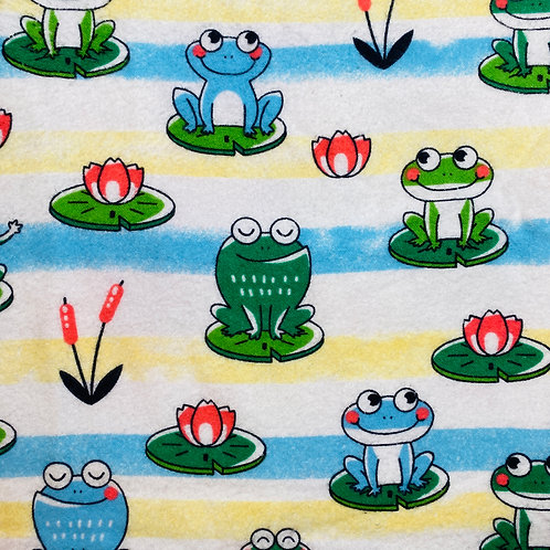 Flannel Frogs & Lily Pads