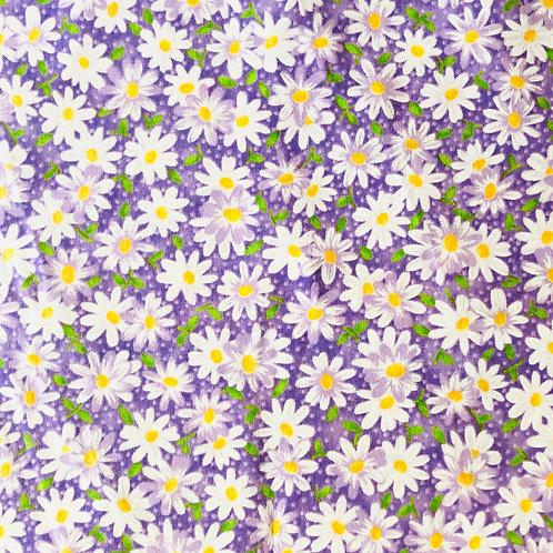 Daisy on Purple