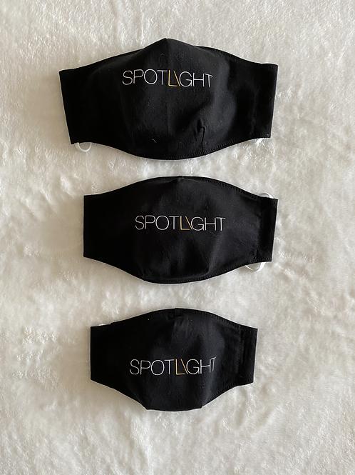 Spotlight Vermont Cotton Mask - 3D Style