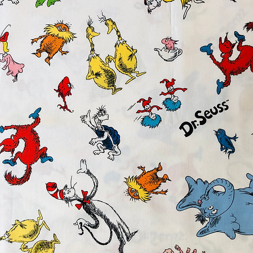 Dr. Seuss - Ponytail Scrub Cap