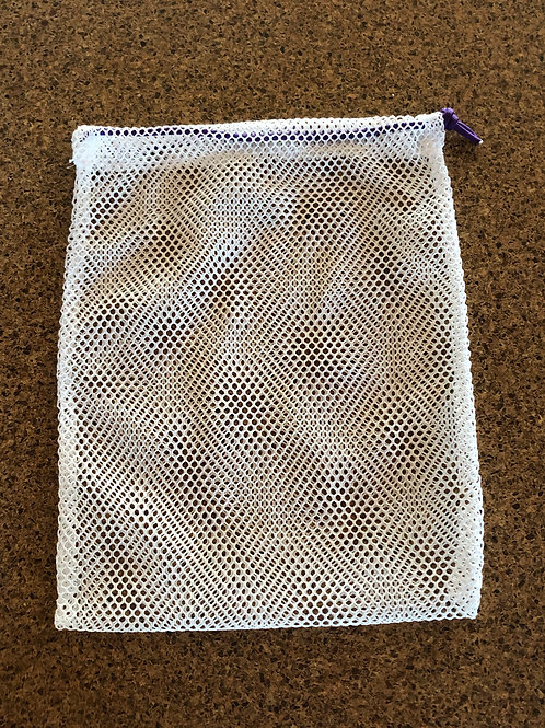 Mesh Laundry Bag - Purple Cord