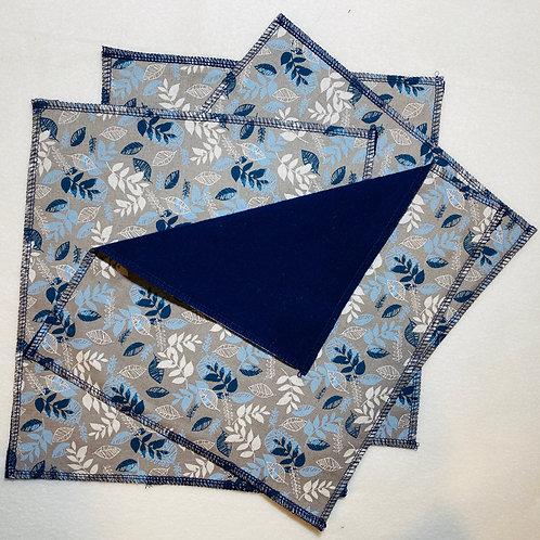 Blue Ferns Unpaper Towels (4)