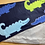 Thumbnail: Toddler/Baby Blanket - Crocodiles on Navy