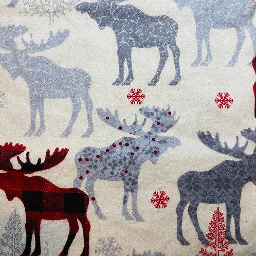 Flannel Moose Herd